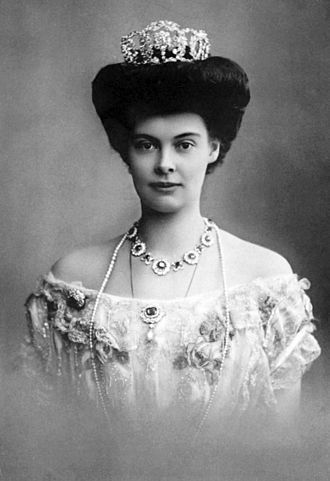 Duchess Cecilie of Mecklenburg-Schwerin - Image: Cecilie of Mecklenburg Schwerin Crown Princess of Germany and Prussia