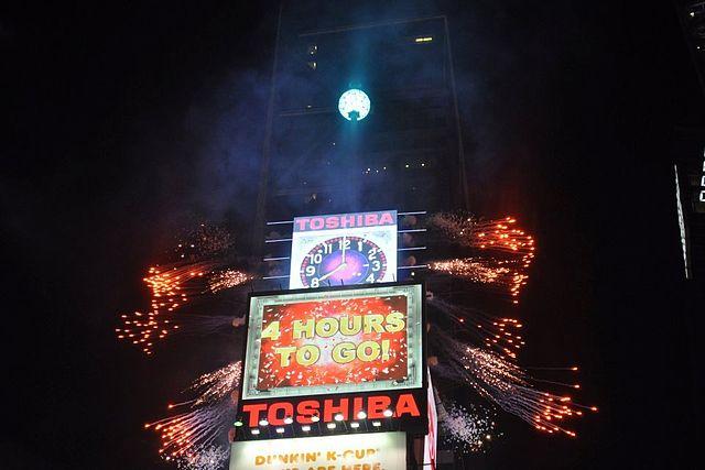 New Years Celebration New York