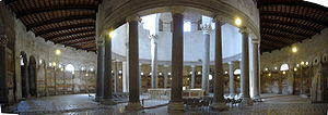 Martyrium (architecture) - The largely 5th-century interior of Santo Stefano Rotondo in Rome