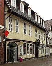 Wohnhaus von Albrecht Daniel Thaer in Celle von 1781 bis 1804 (Quelle: Wikimedia)