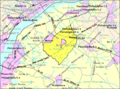 Census Bureau map of Woolwich Township, New Jersey.png