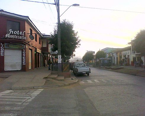 The urban centre of Pichilemu has become dead since the earthquake, because of the fear of a new tsunami there. Image: Diego Grez.