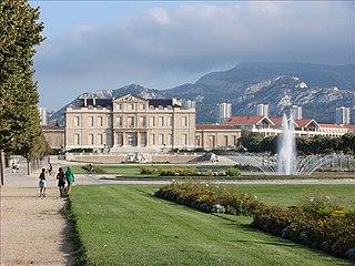 Parc Borély park in France
