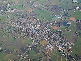 Alphen-Chaam - Aerial view of Chaam