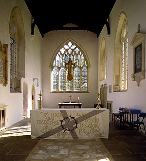 Church of St Mary the Virgin, Ashwell - The chancel