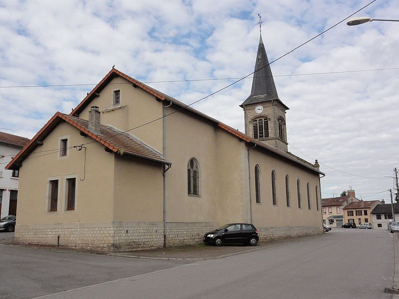 Chanteheux (M-et-M) église