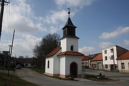 Chapel of Saint Florian in Dolní Vilémovice, Třebíč District.jpg