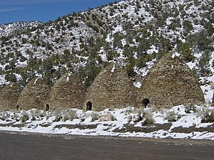 Kiln - Charcoal kilns, California