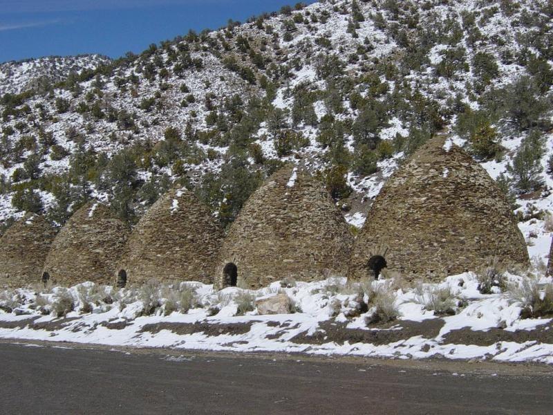 Charcoal Kilns, California