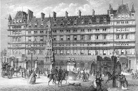 Charing Cross in the 19th century