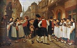 Charles-François Marchal: La foire aux servantes