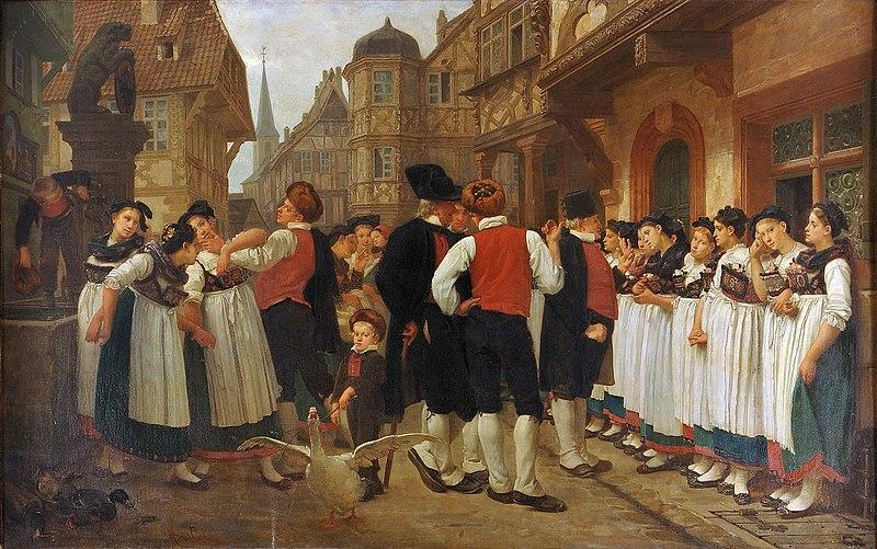 File:Charles-François Marchal, La foire aux servantes.jpg