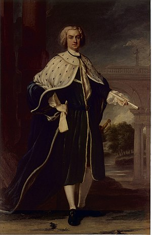 Sir Robert Eden, 1st Baronet, of Maryland - Charles Calvert, 5th Baron Baltimore, Eden's father-in-law.