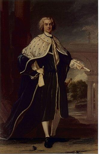 Benedict Swingate Calvert - Calvert's father, Charles Calvert, 5th Baron Baltimore.
