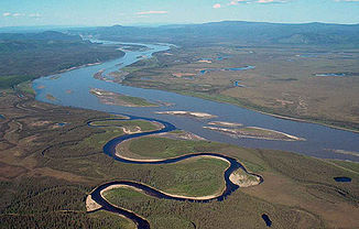 Da Yukon im Yukon-Charley Rivers National Preserve