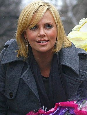 Charlize Theron at the Harvard Hasty Pudding W...