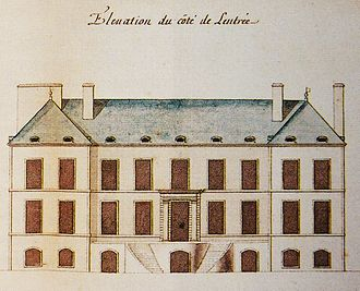 Gaspard-Joseph Chaussegros de Léry (military engineer) - Château Vaudreuil, as drawn on its completion by de Léry, 1727