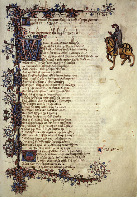 English Words First Attested In Chaucer Wikiwand
