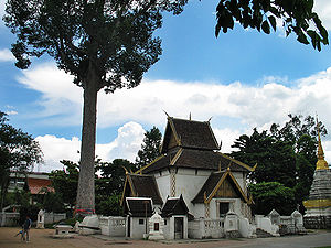 Wat Chedi Luang - City pillar shrine