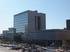 Chiba Bank - Head office (Dec. 20, 2011)
