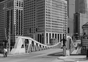 Franklin Street Bridge - Franklin Street Bridge in 1987