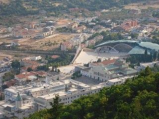 Sanctuary of Saint Pio of Pietrelcina church in San Giovanni Rotondo, Italy