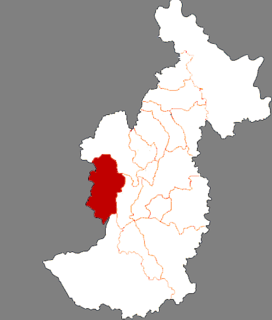 Cuiluan District District in Heilongjiang, Peoples Republic of China