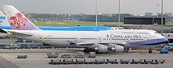 China Airlines B747-409 (B-18275) at Amsterdam Airport Schiphol.jpg