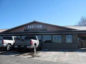 Chinle, Arizona - The Junction Restaurant in Chinle