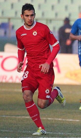 Ivaylo Chochev - Chochev playing for CSKA in 2013