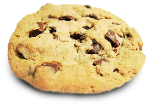 A chocolate-chip cookie.