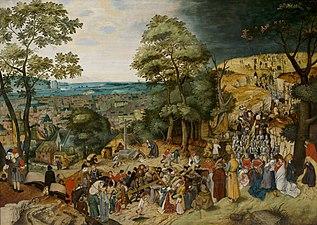 Christ Carrying the Cross by Pieter Brueghel (II) Bonnefantenmuseum 4042.jpg