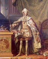 Portrait of Christian VII, King of Denmark