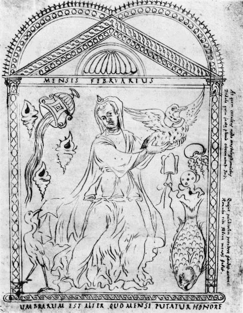 Chronography of 354 Mensis Februarius
