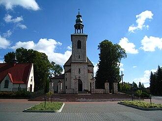 Gołaczewy - Church
