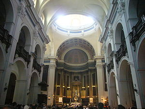 Church of Sant Agustí, Barcelona- Interior.JPG