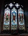 Church of St John, Finchingfield Essex England - north aisle stained glass window.jpg