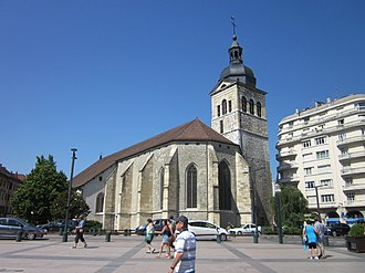 Église Saint-Maurice, Annecy - Image: Church of St Maurice, Annecy