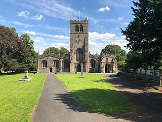 Kendal Parish Church church in South Lakeland, UK
