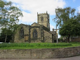 Bolton upon Dearne - Image: Churchof St Andrew The Apostlein Bolton Upon Dearne 04052015