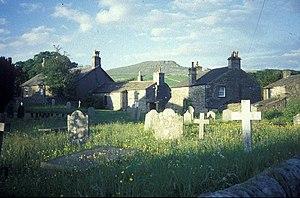 Horton in Ribblesdale - Image: Churchyard, Horton In Ribblesdale