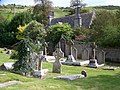 Churchyard and parsonage, Kimmeridge - geograph.org.uk - 543232.jpg