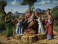 Cima da Conegliano - Riposo durante la fuga in Egitto con i santi Giovanni Battista e Lucia Lisbona Calouste Gulbenkian.jpg