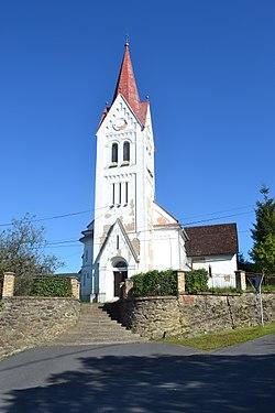 Cinobaňa (Turičky) - Evanjelický kostol.jpg