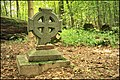 Circumference tomb cross in Kazdanga in the Valata forest - Kazdangas riņķa krusts - panoramio.jpg