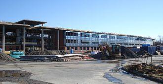 Citadel High School - Citadel High construction site, 2 December 2006