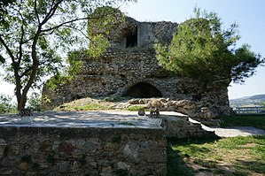 Serres - Remains of a Byzantine citadelle
