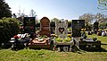 City of London Cemetery ~ four grave monuments - Newham London England.jpg