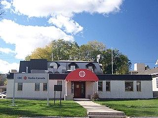 Ici Radio-Canada Première station in Winnipeg