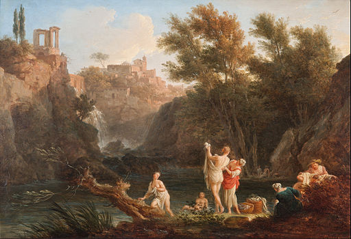 Claude-Joseph Vernet - The four times of day- Evening - Google Art Project